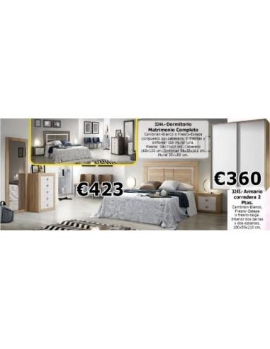Dormitorio completo 3244