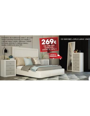 Dormitorio Serie C F28
