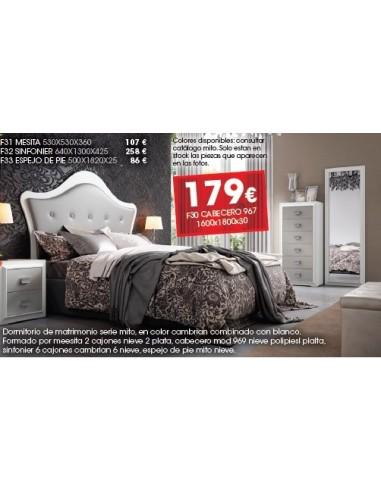 Dormitorio Serie Mito F30
