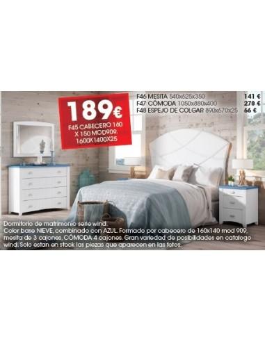 Dormitorio Serie Wind F45