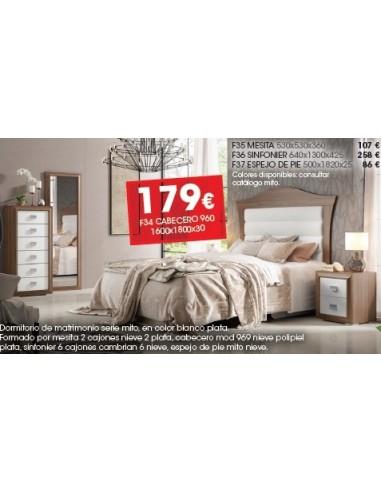 Dormitorio Serie Mito F34